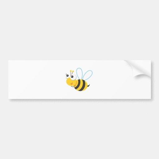 Tiere - Biene Auto Aufkleber