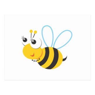 Tiere - Biene Postkarte