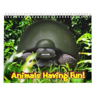 """""""Tiere, die Spaß haben! """" Kalender"""
