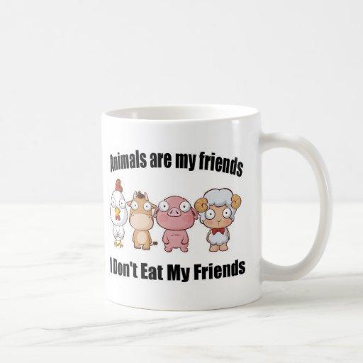 Tiere sind meine Freunde Teehaferl