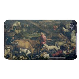 Tiere, welche die Arche (Öl, kommen auf Leinwand) Barely There iPod Etuis