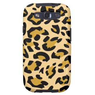 Animal fur Leopard S3 Case