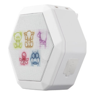 Tierfarben Weiße Bluetooth Lautsprecher