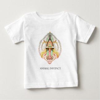 Tierinstinkt - Pavian-Fehlschlaggraphik T - Shirt