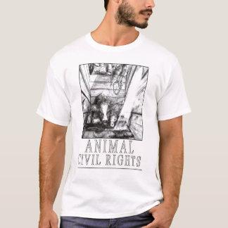 Tierische zivile Rechte (b) T-Shirt