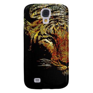 tierischer wilder Tiger Dschungelder Galaxy S4 Hülle