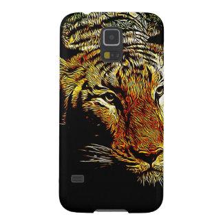 tierischer wilder Tiger Dschungelder Samsung S5 Hüllen