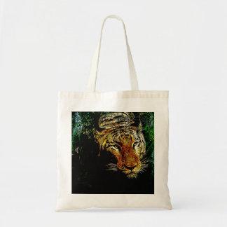 tierischer wilder Tiger Dschungelder Tragetasche