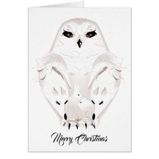tierisches Weihnachten Karte