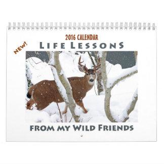 Tierkalender 2016 - neue Leben-Lektionen Kalender