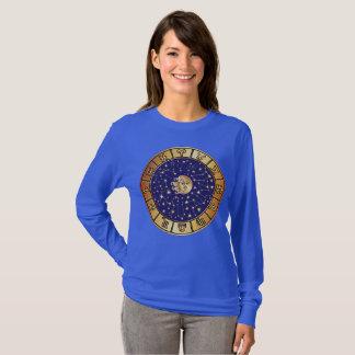 Tierkreis-Astrologie unterzeichnet und spielt die T-Shirt