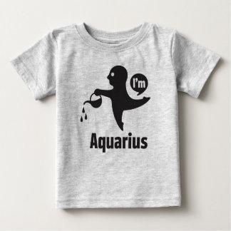 Tierkreis-Baby T-Shirts-Wassermann Baby T-shirt