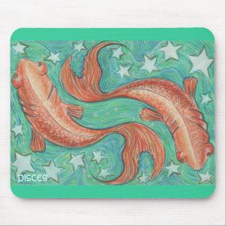 Tierkreis-Fische mousepad