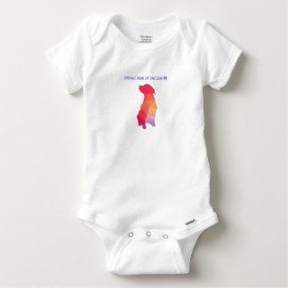 TIERKREIS-HUNDESäugling onsie Baby Strampler