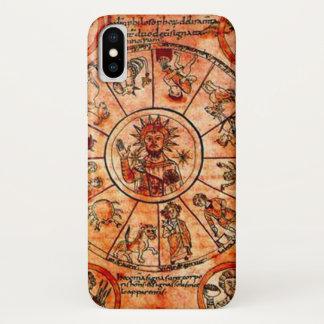 Tierkreis-Kalender-Kasten Christus iPhone X Hülle