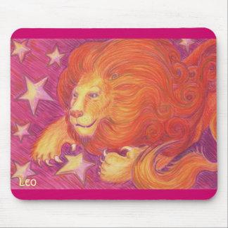 Tierkreis-Löwe mousepad