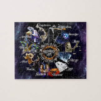 Tierkreis-Puzzlespiel Puzzle