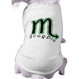 Tierkreis-Skorpions-Haustier-T - Shirt
