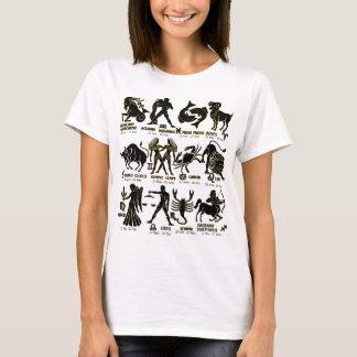 Tierkreis-T - Shirt für Männer und Dame