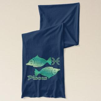 Tierkreis-Zeichen-Fisch-Symbol Schal