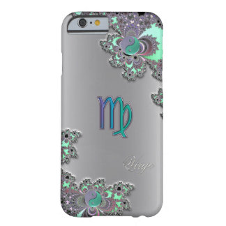 Tierkreis-Zeichen-Jungfrau-Silber-Fraktal iPhone 6 Barely There iPhone 6 Hülle
