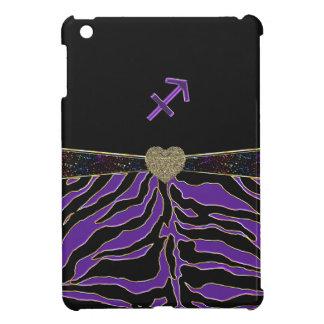 Tierkreis-Zeichen-Schütze-lila Tiger iPad Mini iPad Mini Hüllen