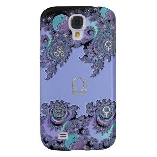 Tierkreis-Zeichen-Waage-Fraktal Design Galaxy S4 Hülle