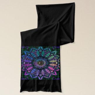 Tierkreis-Zeichen-Waage-Mandala Schal