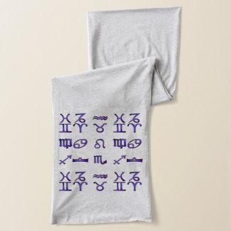 Tierkreissymbolschal Schal