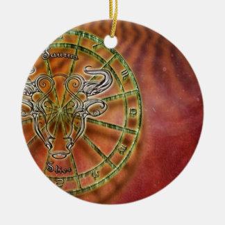 Tierkreiszeichenstier Keramik Ornament