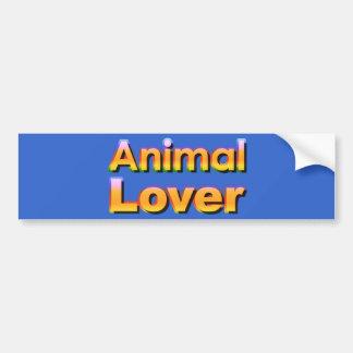 Tierliebhaber Autoaufkleber