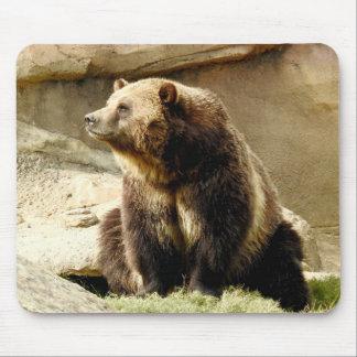 TierMousepad Reihe - Grizzlybär