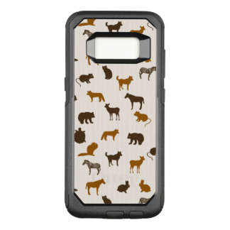 Tiermuster 1 OtterBox commuter samsung galaxy s8 hülle