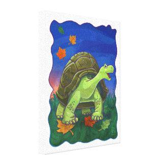 Tierparade-Schildkröten-Wand-Kunst Leinwanddruck