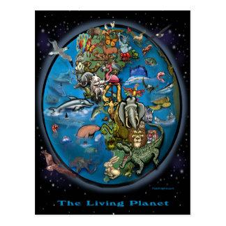 Tierplanet Postkarte