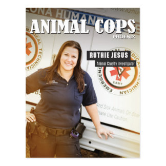 TierPolizisten Phoenix: Ruthie Postkarte