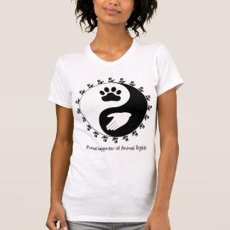 Tierrecht-Anhänger-Shirt