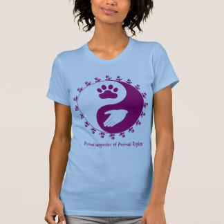 Tierrecht-Anhänger-Shirt T-Shirt