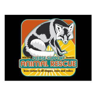 TierrettungFox Postkarten