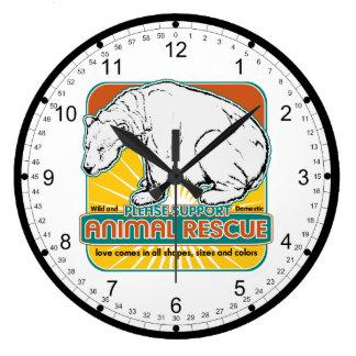 Tierrettungs-Eisbär Uhren