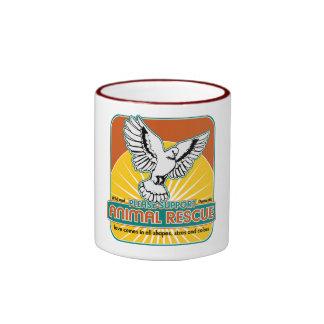 Tierrettungs-Vogel Kaffeehaferl