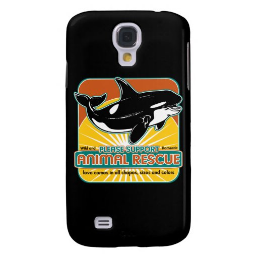 Tierrettungs-Wal Galaxy S4 Hülle