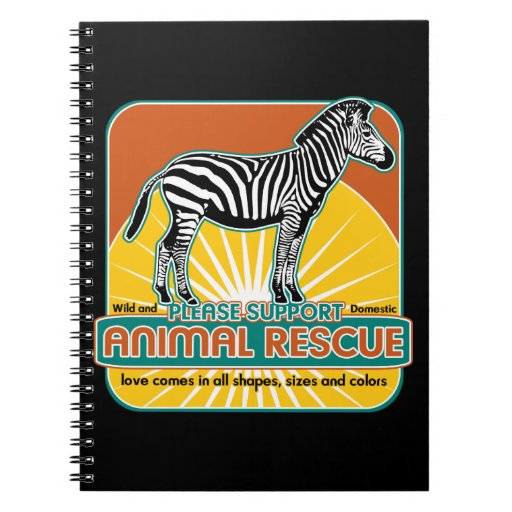 TierrettungZebra Notizbuch