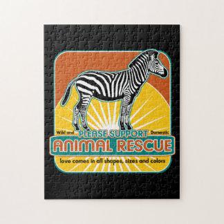 TierrettungZebra Jigsaw Puzzle