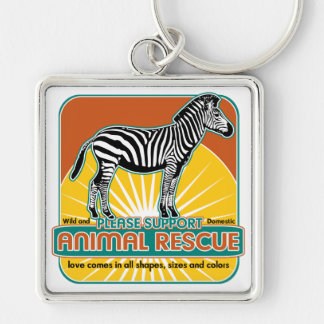 TierrettungZebra Schlüsselband