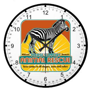 TierrettungZebra Uhren