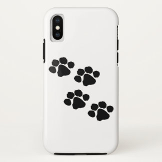 Tiertatzen-Drucke iPhone X Hülle