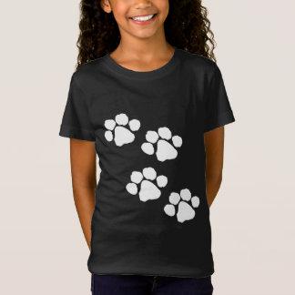 Tiertatzen-Drucke T-Shirt