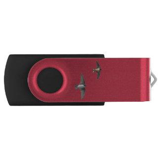 Tiervogel-Baum-Schwalbe und Scheunen-Schwalbe USB Stick