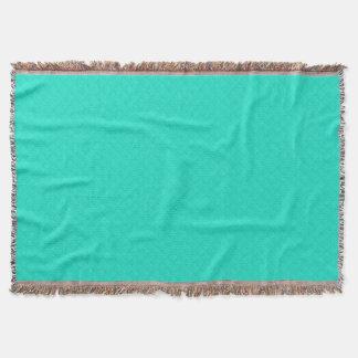 Tiffany-Aqua-Blau gestepptes Muster Decke